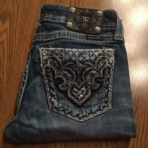 """Miss Me   """"Cropped"""" Boot Cut"""